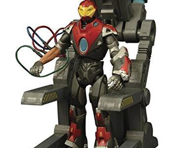 ultimate iron man figura 18 cm marvel select