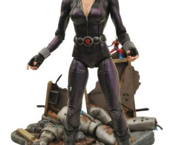 la viuda negra figura 18 cm marvel select