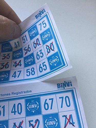 640 cartones de Bingo BINVI