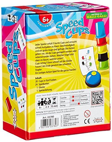 Amigo - Juego de reflejos, de 2 a 4 jugadores (versión en alemán) , color/modelo surtido