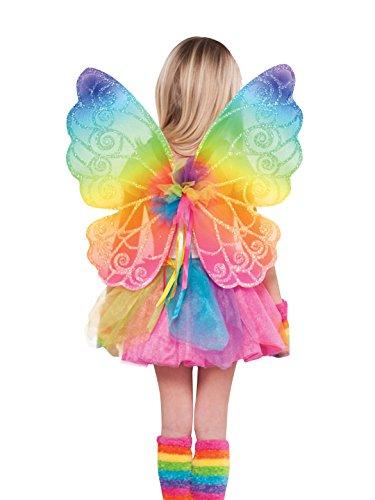Amscan Internacional - Alas de hadas de colores del arco iris para niños