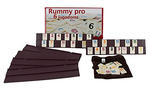 Aquamarine Games - Rummy, 6 jugadores (DO001) , color/modelo surtido