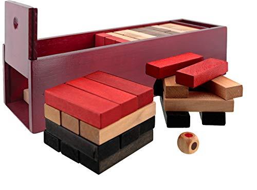 Aquamarine Games Torre Pro XL, Juego de Habilidad (Compudid CP310026), 60 x 50 x 20 cm