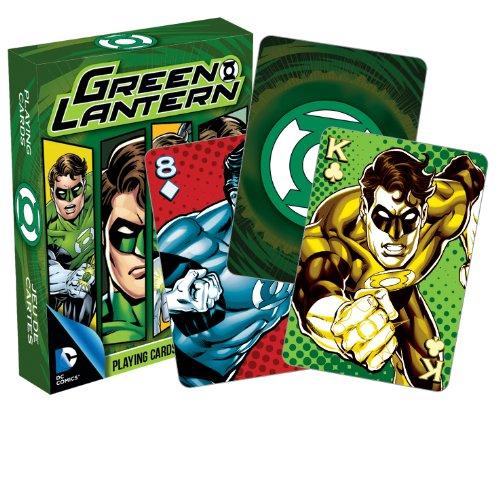 AQUARIUS DC Comics- Deck de Cartas, diseño de Linterna Verde