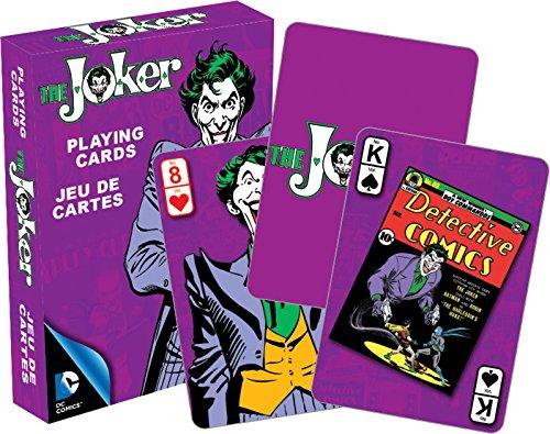 AQUARIUS DC Comics- Retro Joker Playing Cards Deck
