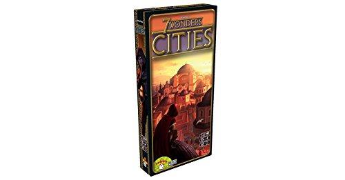 Asmodee- 7 Wonders Cities (ADE0SEV03ML)