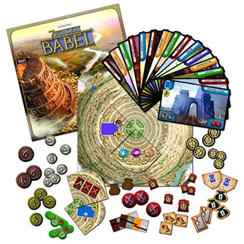 Asmodee - 7 Wonders Exp. 4:  Babel (SEV05ML) , color/modelo surtido