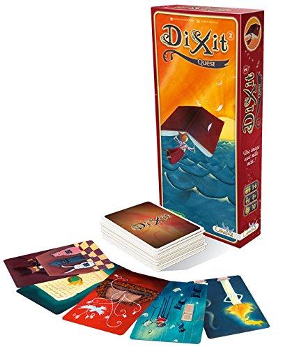 Asmodee- Dixit 2 Quest, Juego de Mesa edición Italiana, Color, DIX02IT