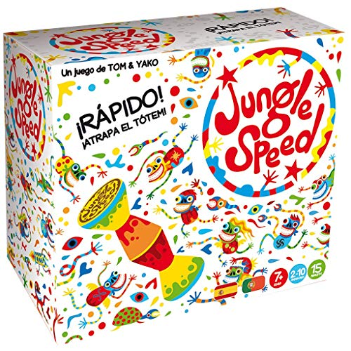 Asmodee Jungle Speed Skawk - Español, Edición 2019 (JSSKWA02ES) , color/modelo surtido