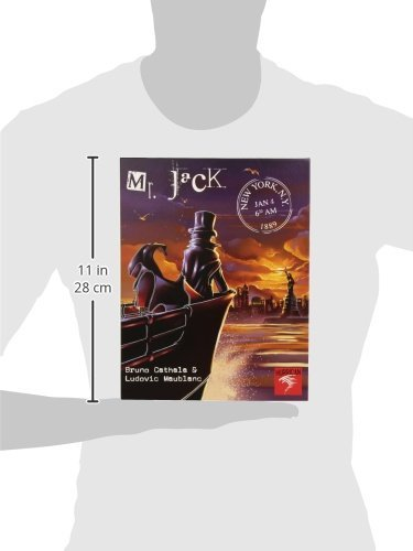 Asmodee- Mr. Jack Nueva York - Español, Color One Colour, Talla única (MRJ03ML)