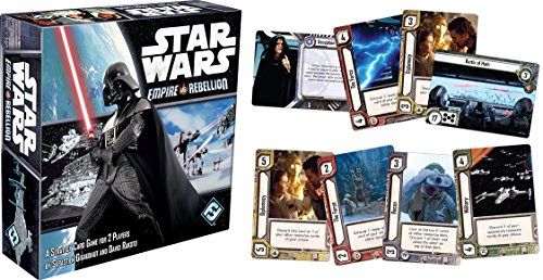 Asmodee Star Wars: Imperio vs Rebelión, Multicolor (FFGSW02)