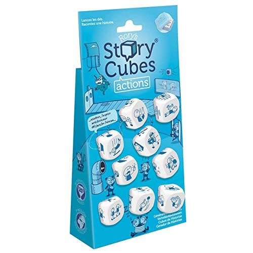 Asmodee Story Cubes: Acciones - Todas las versiones disponibles, Español (ASMRSC102ML1)