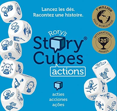 Asmodée Story Cubes: Acciones - Todas las versiones disponibles, Multilenguaje (ASMRSC02ML1)