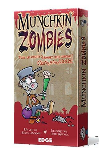 Asmodee–UBIMZ01–Juegos de Cartas–Munchkin Zombies