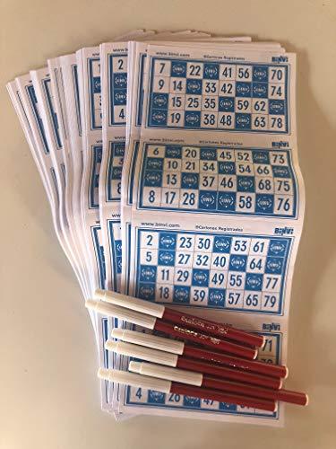 Binvi Juego de Mesa Bingo de Sálvame