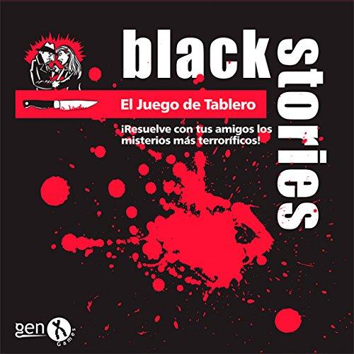 Black Stories Mesa Juego de Tablero, Multicolor (Gen X Games GENBS34)