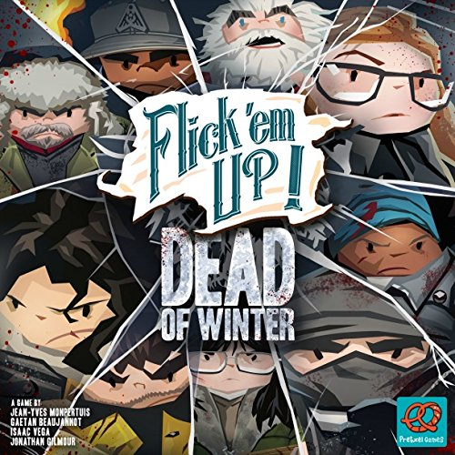Bretzel Games PZG30030EN Flick 'em Up: Dead of Winter, varios colores , color/modelo surtido