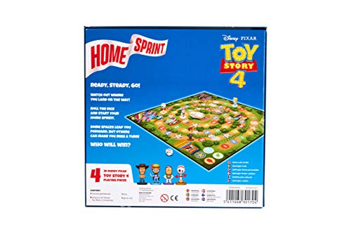 Cartamundi Toy Story 4 Home Sprint - Juego de Mesa, Multicolor