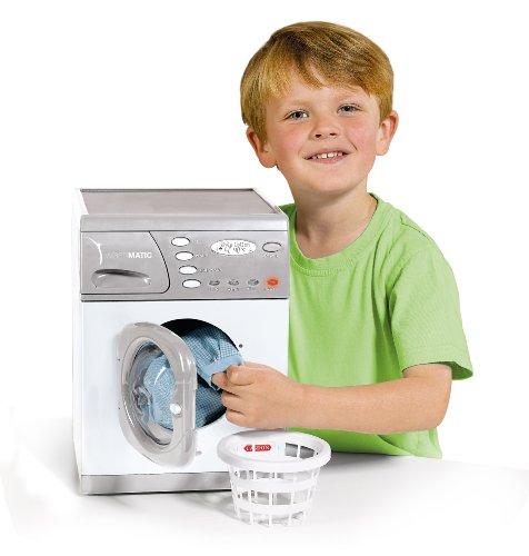 Casdon 476 Little Helper - Lavadora electrónica Modelo Hotpoint de Juguete (Altura 30 cm, Funciona con Pilas, Importado de Reino Unido)