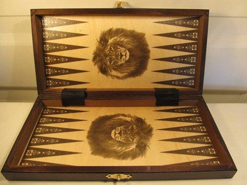 Chessebook - Ajedrez + Damas + Backgammon Tablero de 27 x 27 cm
