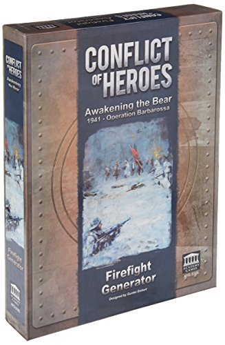 Conflict of Heroes: Awakening the Bear - Firefight Generator , color/modelo surtido