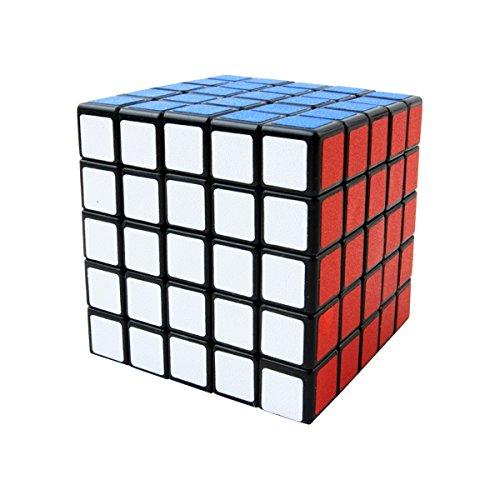 COOJA Cubo Mágico 5x5x5, Velocidad Rompecabeza Cubos con Easy Turning, Brain Teaser para Niños y Adultos
