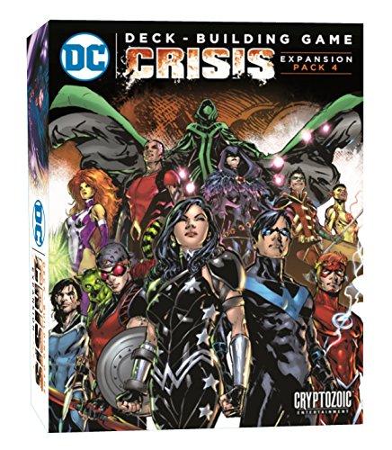 Cryptozoic Entertainment CRY02680 DC Deckbuilding Game: Crisis Expansion, Multicolor