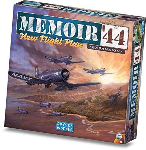 Days of Wonder DOW730027 Memoir '44 New Flight Plan, Mixed Colours