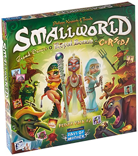 Days of Wonder DOW790024 Small World Race Collection: Maldito, Grand Dames & Royal, Multicolor