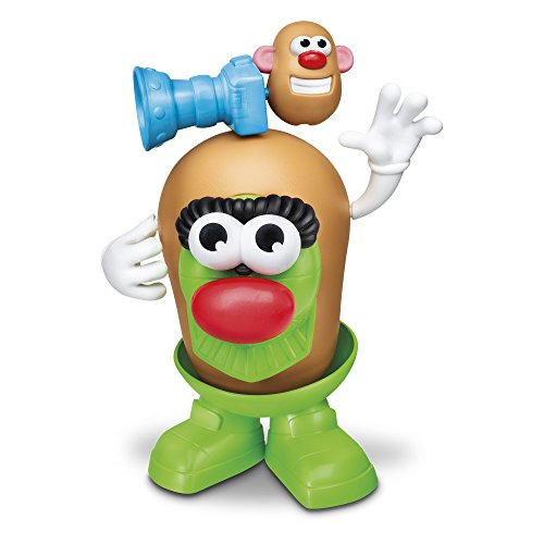 Desconocido Mr. Patate- MR Potato Super VEHICULOS Incluye 27 Piezas TRANSFORMABLE Tren O Explorador, Color varié (Hasbro E1841)