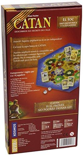 Devir - Catán, ampliación para 5 y 6 jugadores en catalán (BGCAT56) (versión en catalán)