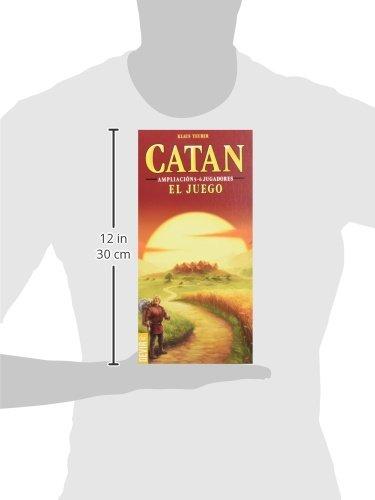 Devir - Catan, juego de mesa - Ampliación para 5 y 6 Jugadores (BGCATAN56)