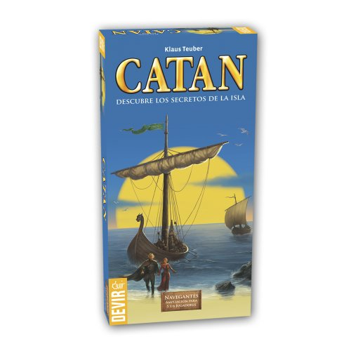 Devir - Catan, Navegantes (BGNAV56) - Ampliación para 5 y 6 jugadores
