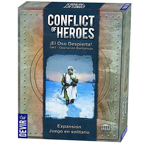 Devir - Conflict of Heroes - 1941 Operación Barbarroja, Juego de Mesa (222760)