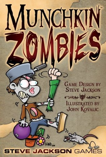 Dirac Munchkin Zombies. Matad a los Vivos