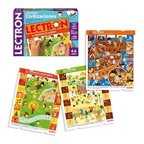 Diset Lectron - Érase una Vez, Juego Educativo de asociar Preguntas y respuestas 64939