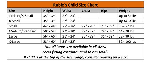 Disfraz de Ninja Dorado enmascarado para niño, infantil 3-4 años (Rubie's 882153-S)