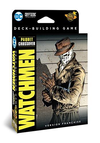 Don 't Panic Games–DC Comics Deck-Building Watchmen–Version Francesa (extensión N ° 2) Juego de Tablero, game1018, [Crossover]