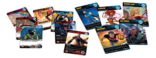 Don't Panic Games- DC Comics-Deck Building Teen Titans GAME1048, versión Francesa