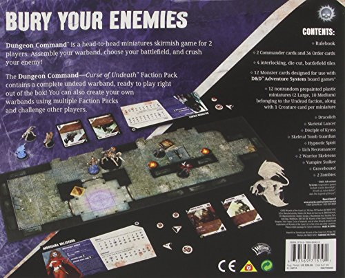 Dungeon Command: Curse of Undeath: A Dungeons & Dragons Expansion Pack (Dungeons and Dragons)