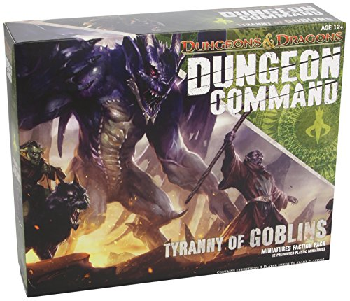 """Dungeon Command: Tyranny of Goblins: A Dungeons & Dragons Expansion Pack (""""Dungeons & Dragons"""" Miniatures)"""