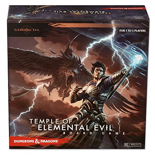 Dungeons and Dragons Temple of Elemental Evil Board Game