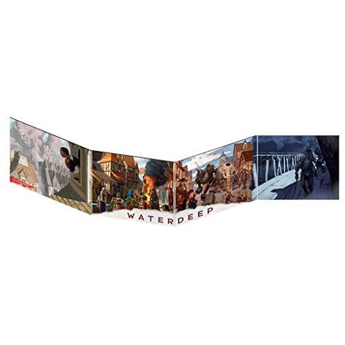 Dungeons & Dragons Pantalla de DM Waterdeep: El Golpe de los Dragones, Color (EEWCDD08A)