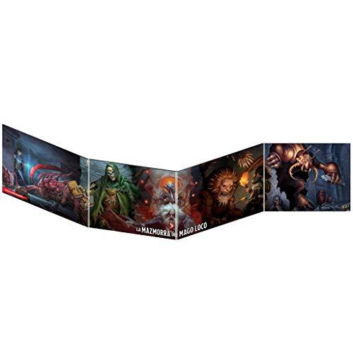 Dungeons & Dragons Pantalla DM Waterdeep: La Mazmorra del Mago Loco, color (EEWCDD09A) , color/modelo surtido