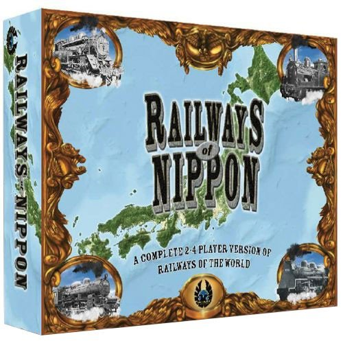 Eagle Railways of Nippon Board Game (Railways of The World Series)