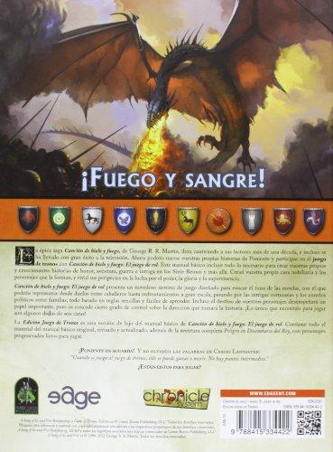 Edge Entertainment- Canción de Hielo y Fuego: Edición Juego de Tronos, Multicolor (EDG2707)