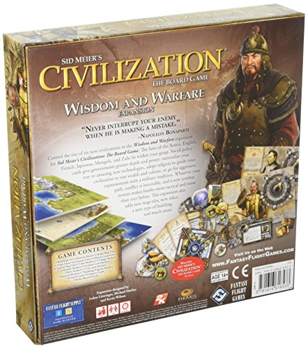 Edge Entertainment - Civilization: Sabiduría Y Guerra