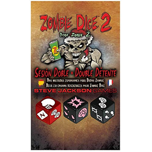 Edge Entertainment-Dados Zombie 2: Sesión Doble (Asmodee, EESJZD02)