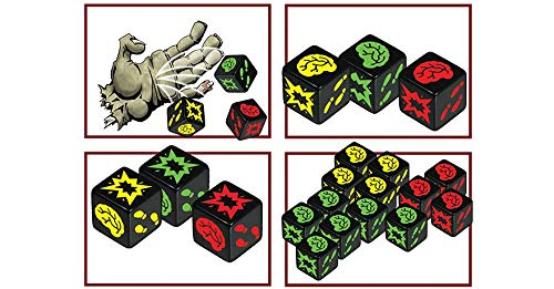 Edge Entertainment Dados Zombie, Multicolor (EDGSJ02)