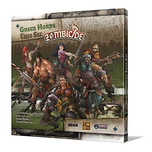 Edge Entertainment- Green Horde Tile Set, Color (EECMZB40) , color/modelo surtido